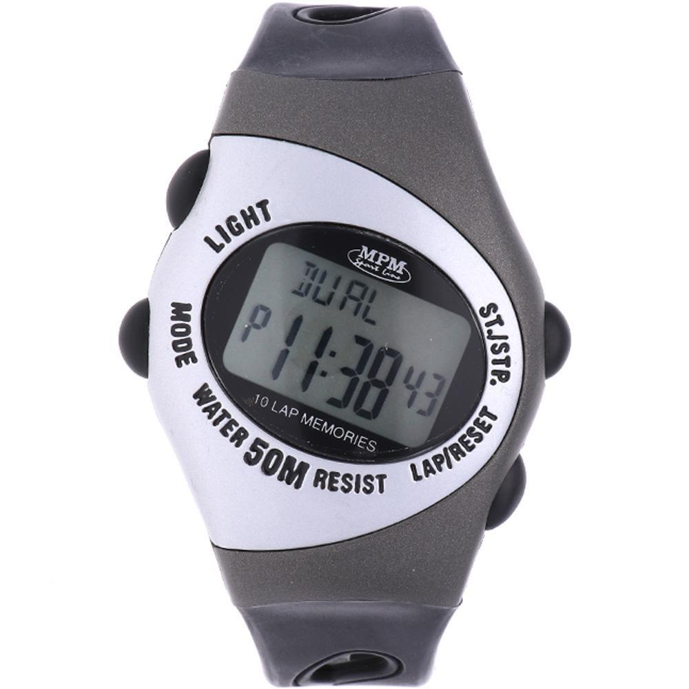 MPM Černé digitální hodinky MPM 2-92252GE1U01007