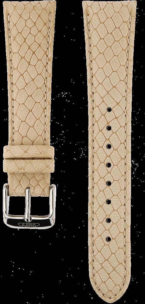MPM Řemínek na hodinky MPM RB.15831.22 (beige - 22 mm)