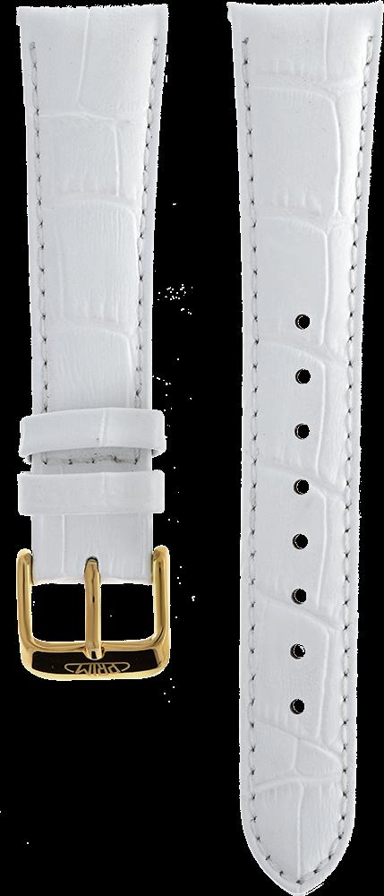 MPM Řemínek na hodinky MPM RB.15831.22 (white - 22 mm)