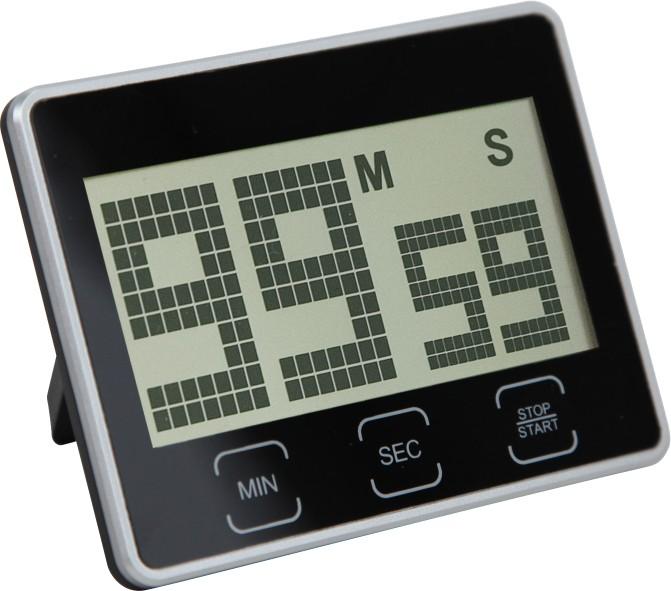 MPM Černá digitální minutka MPM E02.2638