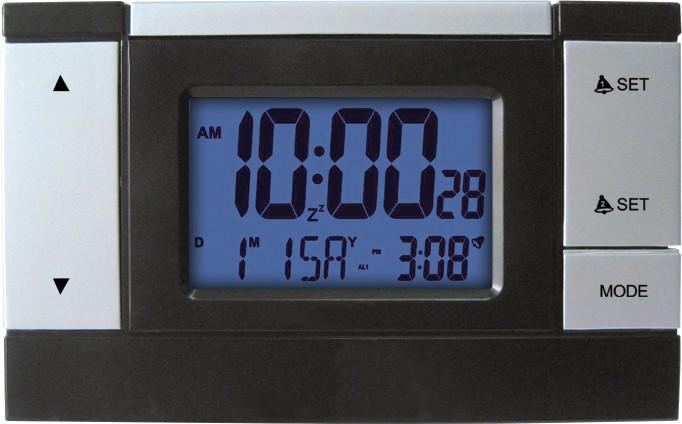 MPM Elegantní digitální budík řízený rádiem C02.2624