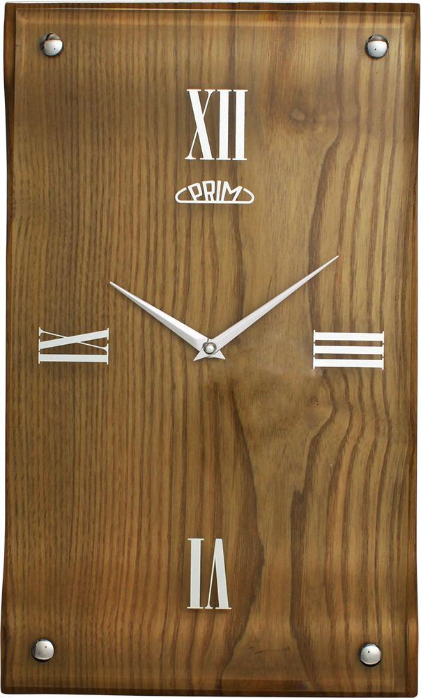 PRIM Nástěnné hodiny PRIM Timber I. E07P.3058.53